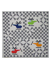 Whirly Birds Quilt Pattern