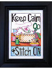 Keep Calm Cross Stitch Kit
