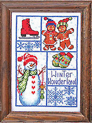 Winter Wonderland Cross Stitch Kit