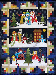 Snow Friends Quilt Pattern