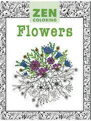Zen Coloring: Flowers Coloring Book