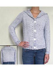 Classic Cardigan Sweater crochet pattern
