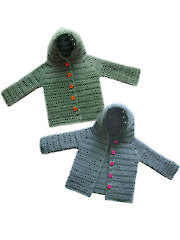 Hooded Baby Cardigan Sweater
