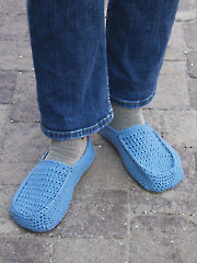 Fireside Crochet Slippers