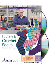 Learn to Crochet Socks Class DVD