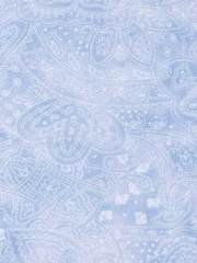 Subtle Charm Light Blue Paisley - 2 Yard Cut