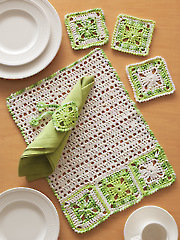 ANNIE'S SIGNATURE DESIGNS: Bon Appetit Crochet Pattern