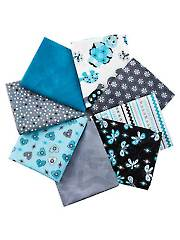Turtle Talk Fat Quarters - 8/pkg.