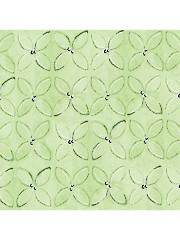 Wild Things Green Geometric 1 Yard Cut