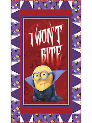 I Won't Bite! Minion� Quilt Kit