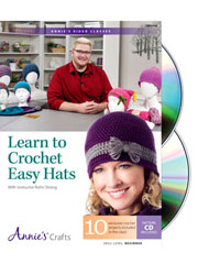 Learn to Crochet Easy Hats Class DVD