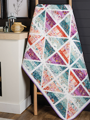Exclusively Annie's Prismatic Quilt Pattern