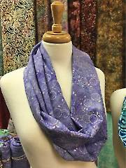 Medora Flora Lilac Infinity Scarf Kit