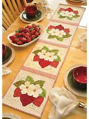 Vintage Blessings June Table Runner Pattern