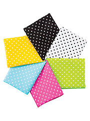 Polka Dot Basics Fat Quarters - 6/pkg.