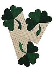 Shamrock Placemat & Table Runner Pattern
