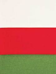 American Made Green/Red/Ivory 1/2 Yard Cuts - 3/pkg.