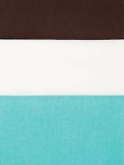 American Made Teal/Brown/Ivory 1/2 Yard Cuts - 3/pkg