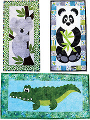 Zoo Crew Skinnies Quilt Pattern
