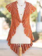 Cinnamon Wrap Crochet Pattern