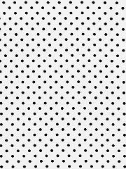 White Polka Dot 1-Yard Cut