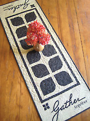 Gather Together Table Runner Pattern