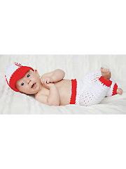 Baby Baseball Outfit Crochet Pattern