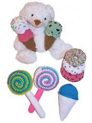 Fun Food Baby Toys Crochet Pattern