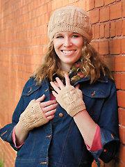 Dublin Owl Hat & Mitts Crochet Pattern