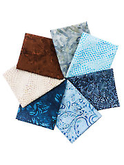 Juniper Logs Fat Quarters - 7/pkg.