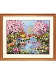 Japanese Garden Paint by Number Kit