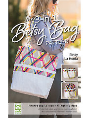 3-in-1 Betsy Bag Sewing Pattern