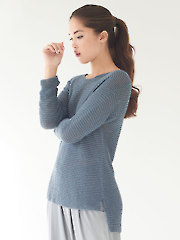 Maris Hi-Lo Pullover Knit Pattern