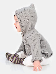 Honeybear Hoodie & Sweetie Socks Knit Pattern
