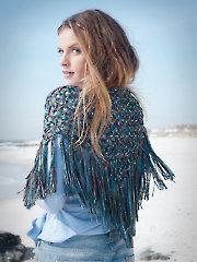 Fire Island Fringe Bandana Knit Pattern