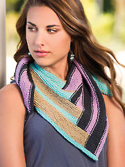 Synergy Shawlette Knit Pattern