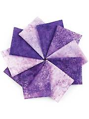 Stonehenge Gradations Brights Amethyst Fat Quarters - 10/pkg