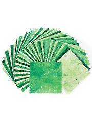 Stonehenge Gradations Brights Rainforest Charm Pack - 42/pkg