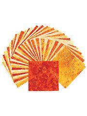Stonehenge Gradations Brights Sunglow Charm Pack - 42/pkg