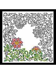 Zenbroidery� Garden Picture Stamped Embroidery