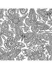 Papillon Coloring Fabric - 1 Yard Cut