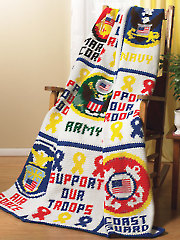 Military Afghan Crochet Pattern