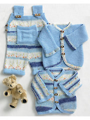 3767: Baby Set Knit Pattern