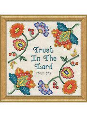 Trust Cross Stitch Kit