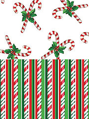 Candy Stripe & Candy Cane Fabric Pack