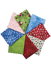Just Be Claus Fat Quarters - 8/pkg.