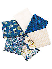 Flowering Peony Fat Quarters - 6/pkg.