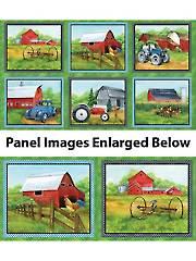 "Green Mountain Farm Panel - 24"" x 43"""