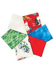 Green Mountain Farm Fat Quarters - 6/pkg.