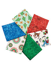 Christmas Pictures Fat Quarters - 6/pkg.